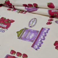 Lila-pink befőttes vastag vászon