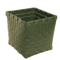 HANDED BY: Kézzel szőtt tároló szett ARMY GREEN - újrahasznosított műanyagból