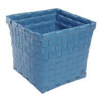 HANDED BY: Kézzel szőtt tároló szett KŐ KÉK - újrahasznosított műanyagból