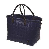 ÚJ!!!  HANDED BY táska: SAINT-TROPEZ navy kék  - újrahasznosított műanyagból