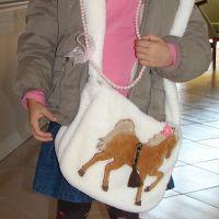 Díszlovas táska
